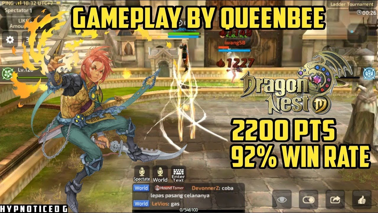 The Good Ripper | Gameplay by QueenBee - Dragon Nest M SEA