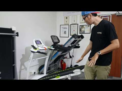TM-888 Home Treadmill Introduction.