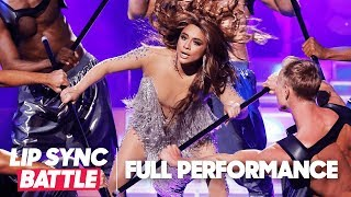 "Ally Brooke of Fifth Harmony Performs ""Como La Flor/On the Floor"" by Selena & J-Lo 