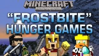 "Minecraft (Xbox 360): NEW EXCLUSIVE ""FROSTBITE"" HUNGER GAMES w/ Subs (Download Link)"