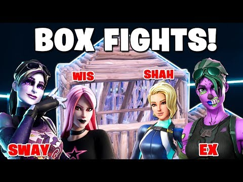 SWAY, EX, SHAH & WIS | BOX FIGHTS CHALLENGE (BATTLE OF TOXIC )
