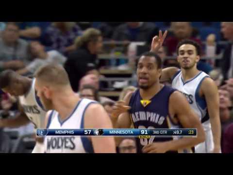 Vincent Hunter 2016 NBA Preseason Highlights w/ Memphis Grizzlies