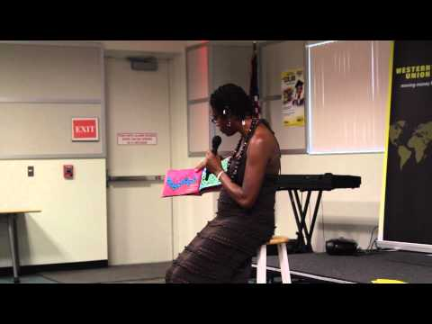 Anancy Fest 2014  Book Reading by South Florida Radio Personality Pat Montague