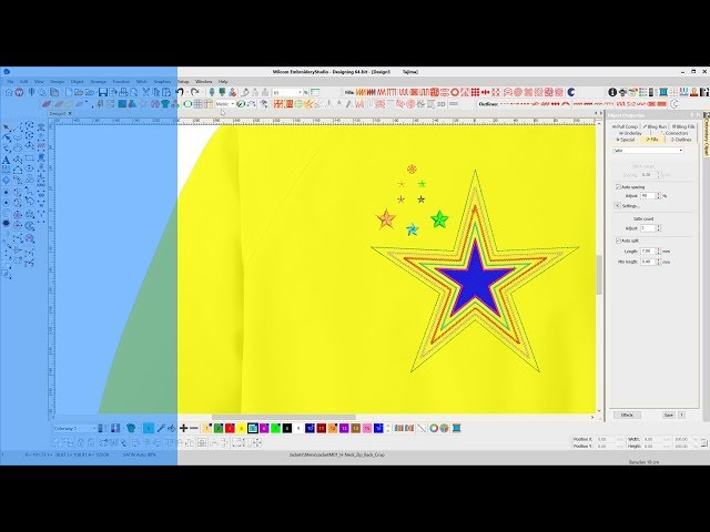 Create Embroidered Stars
