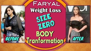"Faryal Mehmood Fat To Fit Size ""Zero"" Weight Loss Diet Food, Dance Hindi Dieting Tips &amp"