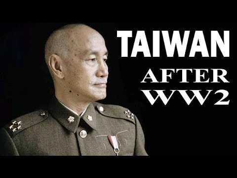 Taiwan and US Armed Forces and The War with China after WW2
