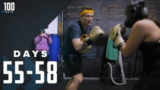 Boxing is Dancing: Days 55-58 | 100 Days