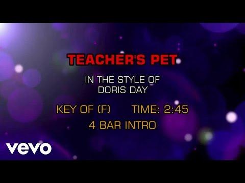 Doris Day - Teacher's Pet (Karaoke)