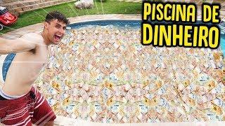 DESAFIO DA PISCINA DE DINHEIRO !! ( DEU RUIM ) [ REZENDE EVIL ]