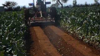 G35: Reverse Tiller Bed Former with Smooth Roller in Broccoli