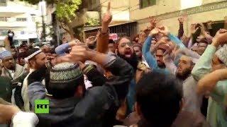 Tensión en Pakistán por el perdón a la cristiana Asia Bibi