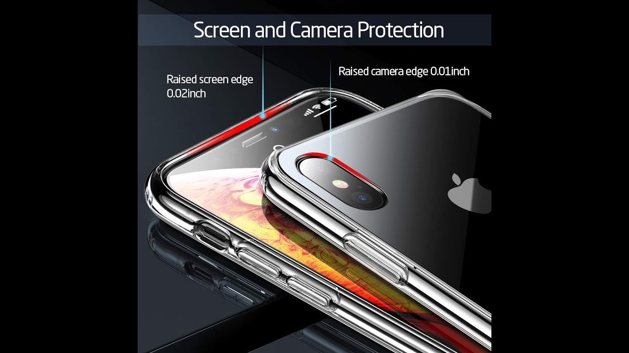 online store ee1ec a394e ESR Mimic Tempered Glass Case for iPhone Xs Max-QUICK TECH REVIEW