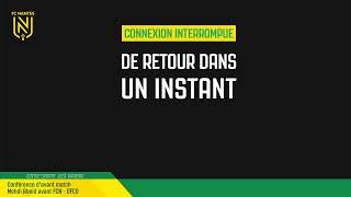 VIDEO: LIVE I Conférence de presse d'avant match : FCN - Dijon FCO