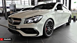 Mercedes AMG CLA45 4Matic 2018 NEW FULL Review Interior Exterior