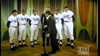 "JOEY BISHOP SHOW with ""The L.A. Dodgers"" NBC sitcom"