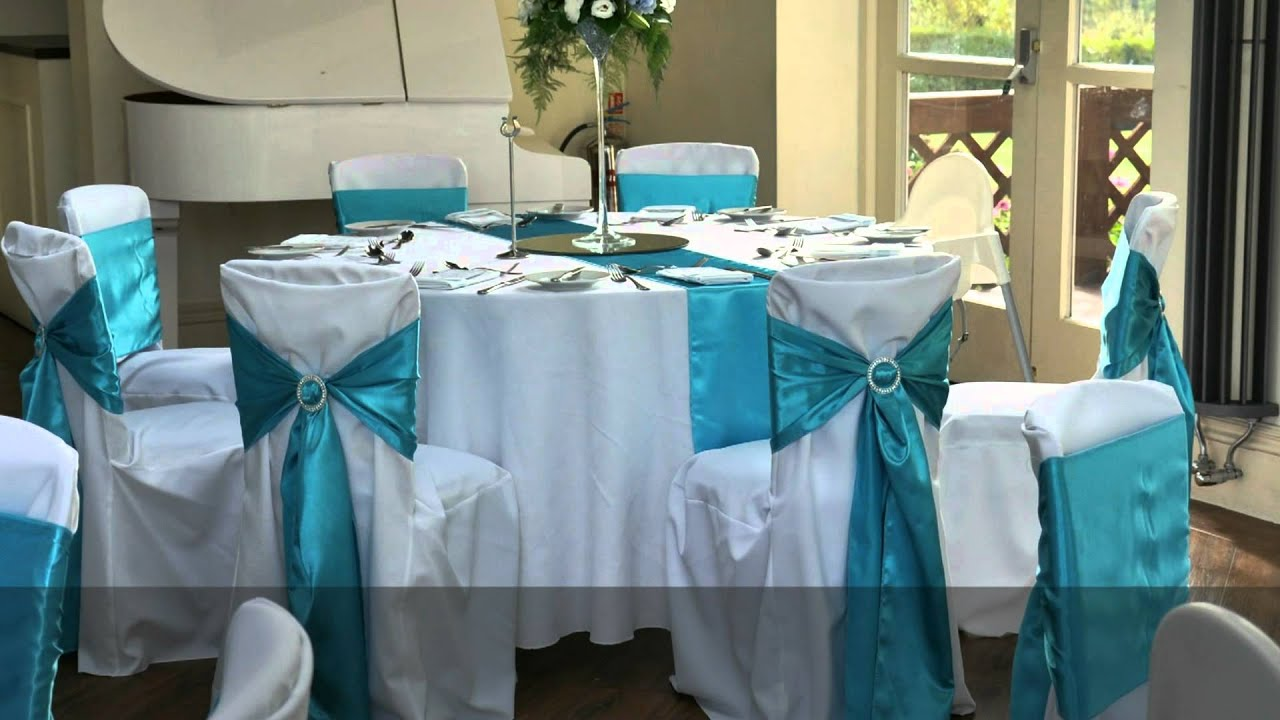 Tiffany Blue Style Wedding.m2t - YouTube Quinceanera Table Settings