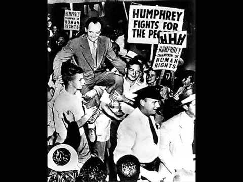 Hubert Humphrey 1948 Civil Rights Speech