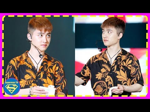 EXO D.O Has A Stack Of Tissues In His Back Pocket During An Event...Ready To Save His Members