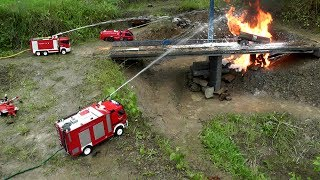 RC HORRIBLE  FIRE ACCIDENT