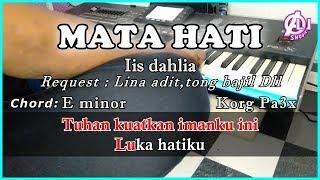Download MATA HATI - Iis Dahlia - Karaoke Dangdut Korg Pa3x