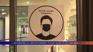 Yvelines | Les mesures du déconfinement à Saint-Quentin-en-Yvelines