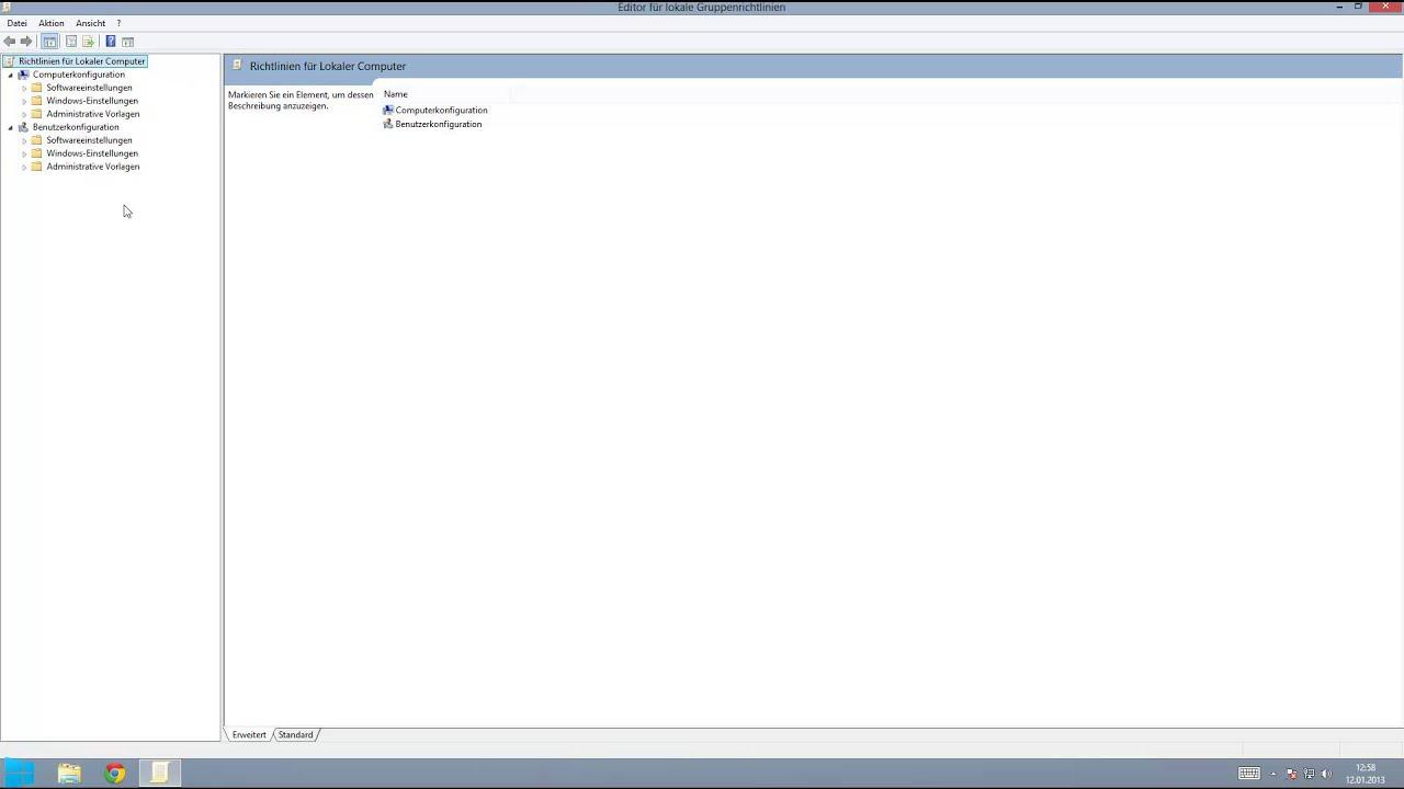Tolle Benutzerkonfiguration Administrative Vorlagen Fotos - Beispiel ...