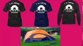 Camping - Camping Young - Shirt | T-Shirts Club
