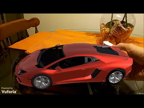 JOESID.com: Unity3D - Augmented Reality Car Using Vuforia Object Recognition API