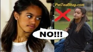 "Malia Obama Harassed By Older Woman at COLLEGE after turning down Fan Pic ❌📷 ""I'm NOT an Animal"""