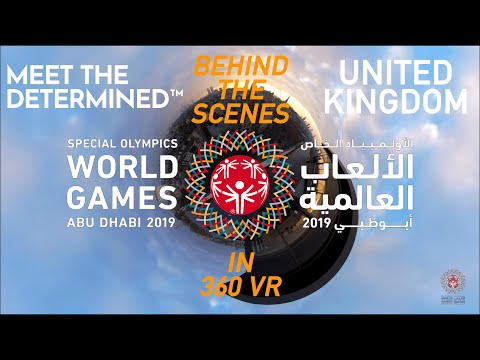 #MeetTheDetermined In 360 VR - United Kingdom - Behind-the-Scenes