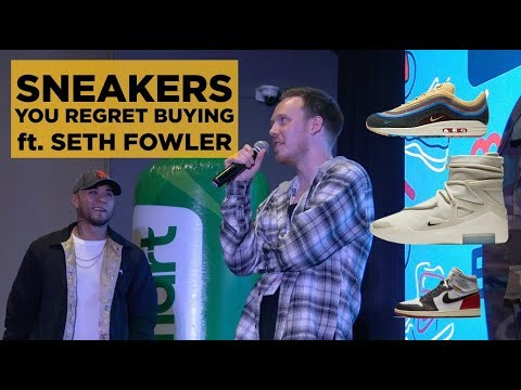 HYPE SNEAKERS YOU REGRET BUYING (Ft. SETH FOWLER) // MANILA SNEAKER EXPO 8!!!
