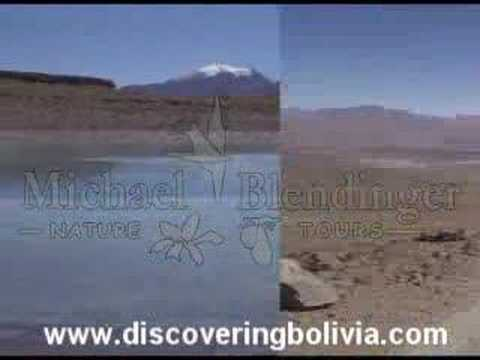 Eduardo Avaroa Natural Reserve, Bolivia. Red Lagoon, the big