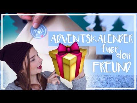 Adventskalender für meinen Freund - Inhalt | Befüllen