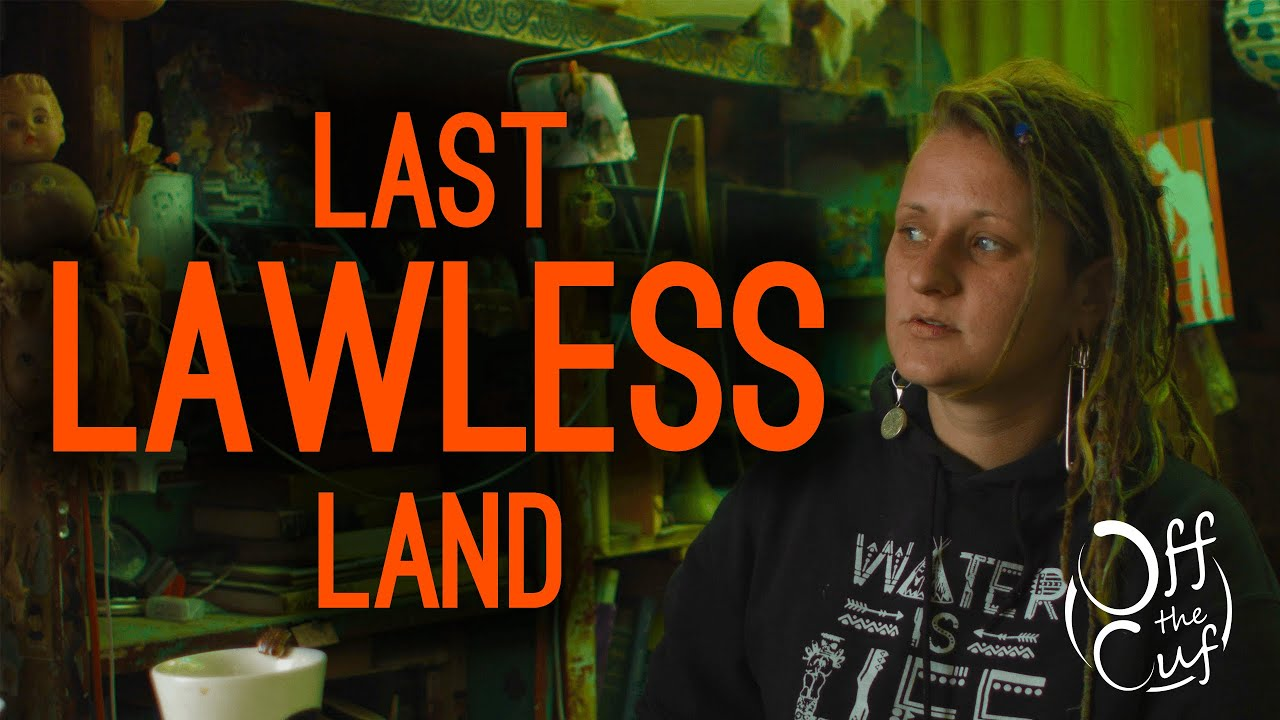 The LAST LAWLESS LAND in America: Slab City