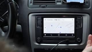 Фольксваген RCD330+ з CarPlay і Android Авто, Російська, Іспанська, Portuges, англійська
