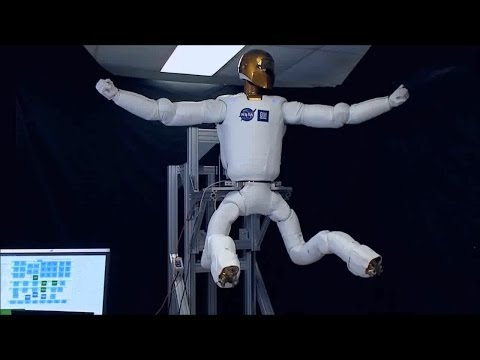 Testing Out Robonaut 2's New Legs | NASA Space Science HD