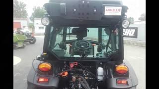 Nouveau tracteur CARRARO VLB Cabine fruitiere