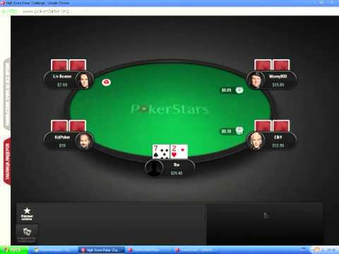 1 билет Pokerstars   School Pass с помошью Big Hands Poker Challenge
