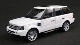 Land Rover Range Rover Sport 2005 1/18 AUTOart - review