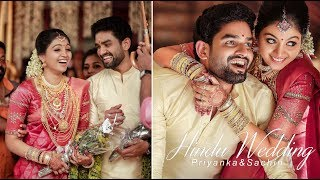 Kerala Hindu Wedding Highlights! The Most Cutest Couple For Ever.. Priyanka ♥ Sachin
