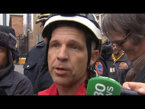 Woman rescued from Toronto crane:  'We weren't sure what was going to happen'