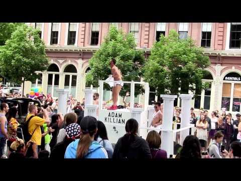Adam Killian at Portland Gay Pride Parade 2013 in HD