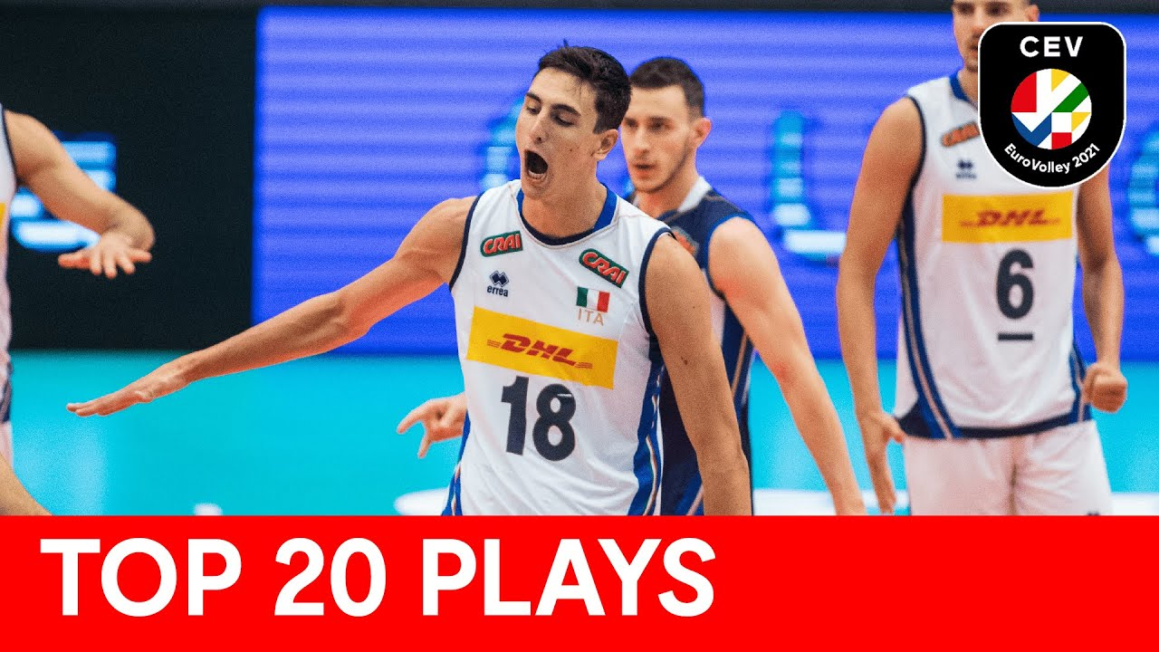Top 20 plays of CEV EuroVolley 2021 | Men