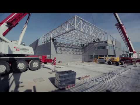 Rapid Deployment of T-Systems' Strategic Modular Data Center – Construction Time-Lapse and Interview