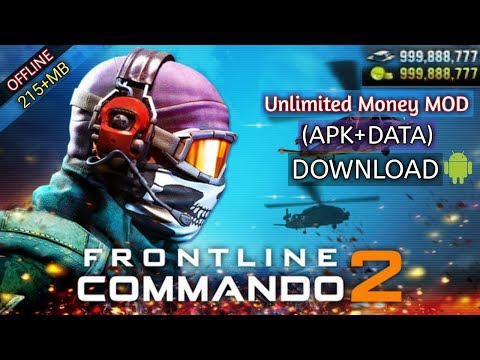 FRONTLINE COMMANDO 2 (MOD, Unlimited Money) Download For Android