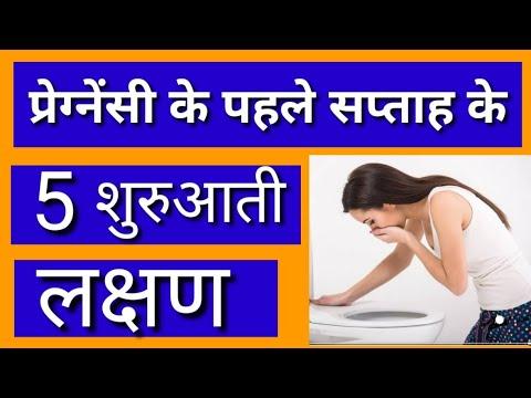 First week Pregnancy Symptoms in Hindi | गर्भवस्था के शुरुआती सप्ताह के लक्षण | By Nida Ali