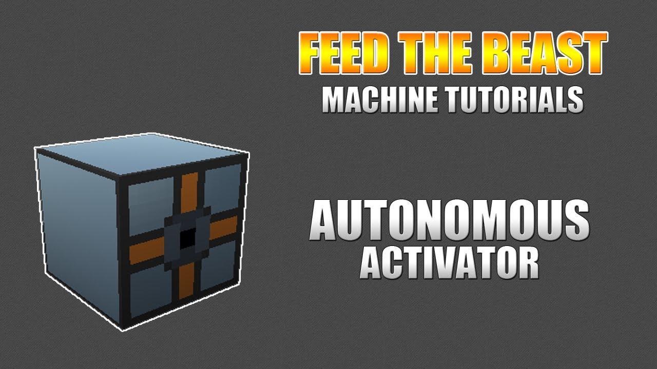 autonomous activator not working on sieve