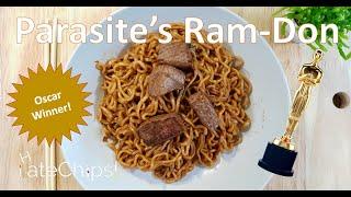 Parasite's Ram-Don (Steak Noodles)