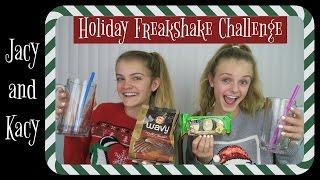 Freakshake Challenge ~ Holiday Edition ~ Jacy and Kacy