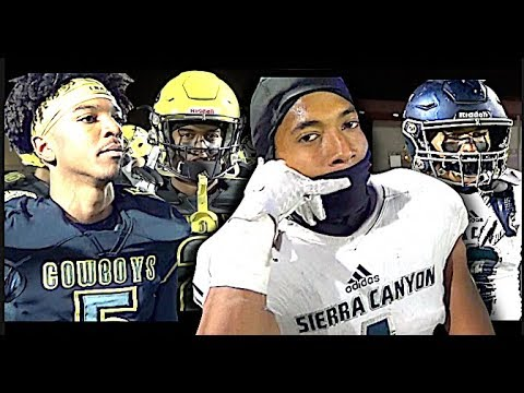 🔥🔥 Sierra Canyon vs Cajon Football | CIFSS D3 Championship Classic | ACTION PACKED Highlight Mix